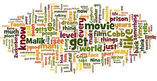 eriklundegaard com my top 10 movies in a word cloud