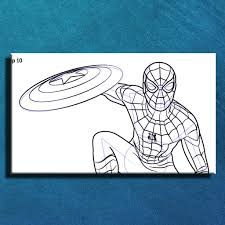 draw spiderman step step android apps google play