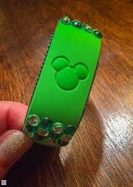 rhinestone bands decorating your magicband rolling with the magic