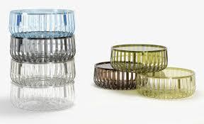 panier ferm living panier coffee table cristal by kartell