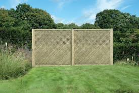 privacy garden trellis pressure treated garden fencing and