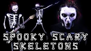 Scary Skeleton Halloween Costume by