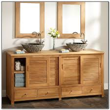 knotty pine bathroom cabinets with rustic wood trim bathroom