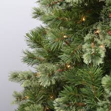 7 5 u0027 wispy willow grande artificial christmas tree clear lights