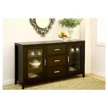 angie contemporary glass cabinet dining buffet cappuccino homes