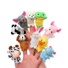 aliexpress buy 10 pieces animal finger puppets doll baby
