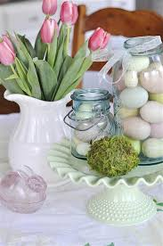 Easter Decorations Using Mason Jars by Easter Decor 2013