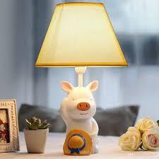 Schlafzimmer Tischlampe Großhandel Oovov Cartoon Schwein Kleine Tischlampe Kinderzimmer