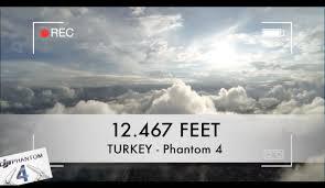 phantom 4 breaks maximum altitude limit 12 467 feet youtube