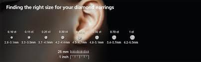1 4 carat diamond earrings igi certified platinum princess diamond stud earrings