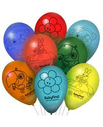 party balloons babyfirst birthday party supplies