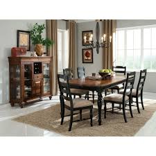 2 584 00 mckean casual country two tone 8 pc dining set table 6