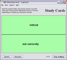card software free flash card software cuecard