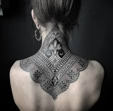Tattoo Ideas For Back Of Neck Ornamental Henna Neck Tattoo Http Tattoo Ideas Com Henna Neck