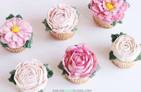 how do you make a cake how to make buttercream flower cupcakes avalon cakes