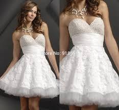 aliexpress com buy short white dress online baby doll prom dress