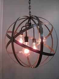 Orb Ceiling Light Where To Buy Industrial Steel Orb Sphere Wine Barrel Ring