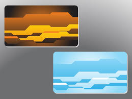 Abstract Business Cards Abstract Shapes Business Cards Vector Art U0026 Graphics Freevector Com