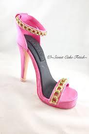high heel cake topper gumpaste high heel shoe fondant shoe high heel cake topper shoe