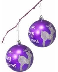 deal alert handpainted 2 shatterproof ornament set