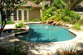 decoration cool pools pool designs and stone walls form