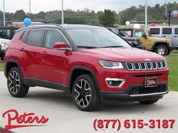 jeep compass limited red new 2018 jeep compass limited suv in longview 8d124 peters