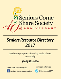 seniors come share society empower engage educate