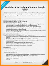 11 sample resume administrative azzurra castle grenada
