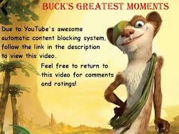 ice age 3 buck u0027s greatest moments 1080p hd