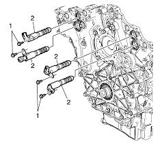 repair instructions off vehicle engine front cover removal