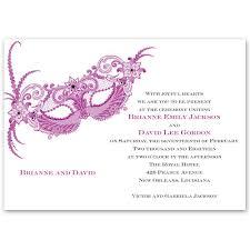 masquerade wedding invitations masquerade invitation s bridal bargains