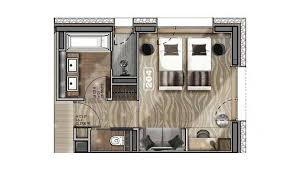 plan de chambre plan chambre de luxe idées novatrices de la conception et du
