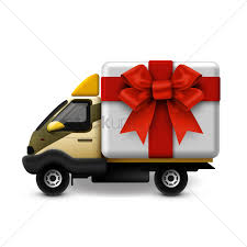 delivery gifts gifts delivery vector image 1518249 stockunlimited