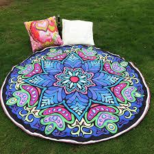aliexpress com buy drop shipping hippie round mandala tapestry