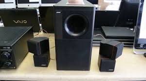 bose subwoofer home theater bose acoustimass 7 youtube