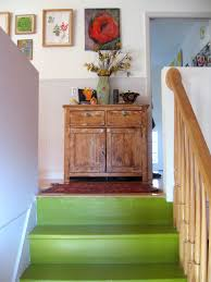 Painted Stairs Design Ideas Hall U0026 Stairs Decoration Ideas Staircase Contemporary With Step