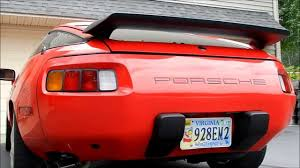 porsche 928 custom porsche 928 borla exhaust youtube