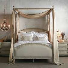 Upholstered Canopy Bed Awesome Upholstered Canopy Bed Classic Creeps How To Make