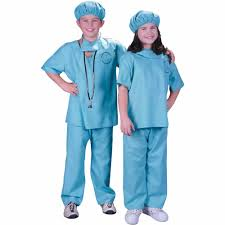 halloween scrubs tops doctor child halloween costume walmart com
