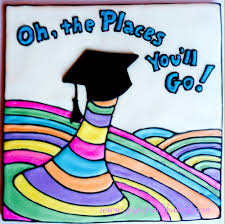 oh the places you ll go graduation oh the places you ll go dr seuss cookie connection