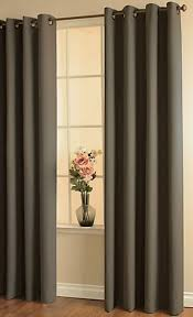 Top Curtains Inspiration Fantastic Brown Grommet Curtains Inspiration With Duck River Solid