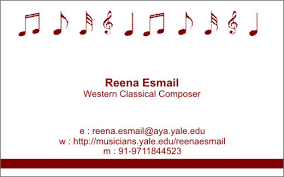 yale business card reena in india a year of in india page 7