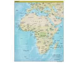 Map Of Ethiopia Maps Of Africa And African Countries Political Maps Road And