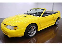 1998 ford mustang cobra for sale 1998 ford mustang cobra for sale on classiccars com 3 available