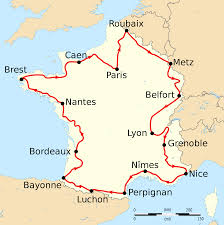 Lyon France Map File Tour De France 1910 Map Fr Svg Wikimedia Commons