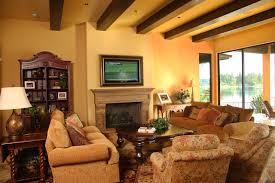 tuscan kitchen traditional living room seattle by