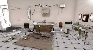 vintage bathroom ideas white vessel shape free standimg bathtub