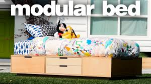 Modular Bed Frame A Modular Bed Woodworking Projects
