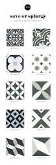 Vinyl Tile Pictures Save Or Splurge Black White Floor Tileblack And Vinyl Tiles Canada