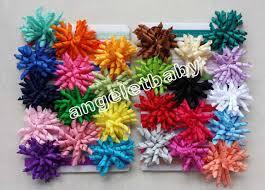 korker ribbon stretchy shimmering hair band with solid korker ribbon hair clip